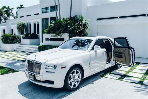 Car Rentals At Of Miami by Rolls Royce Ghost Miami Rental Car Rentals Of Miami