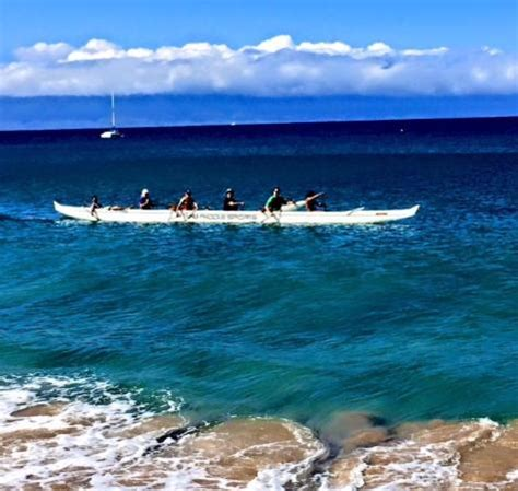Canoes Lahaina by Outrigger Canoe Kaanapali Picture Of