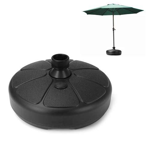ipree mm outdoor garden beach umbrella stand plastic