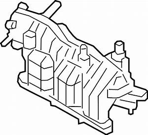 Lincoln Mkx Engine Heater  2 7 Liter  Transaxle