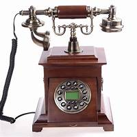 old fashion phones Quality antique telephone fashion vintage wood telephone antique old fashioned home telephone ...