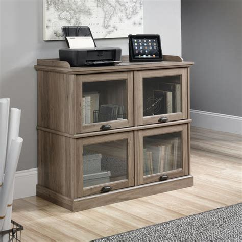 sauder computer desk salt oak sauder barrister salt oak highboy tv stand at menards 174