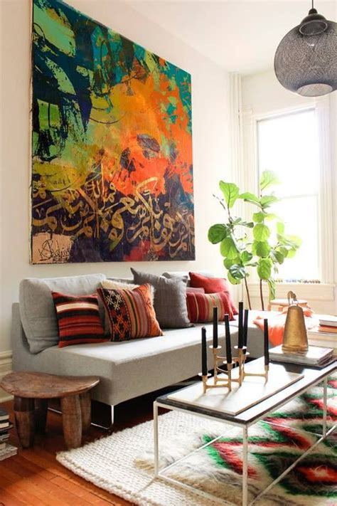Living Room Abstract Art
