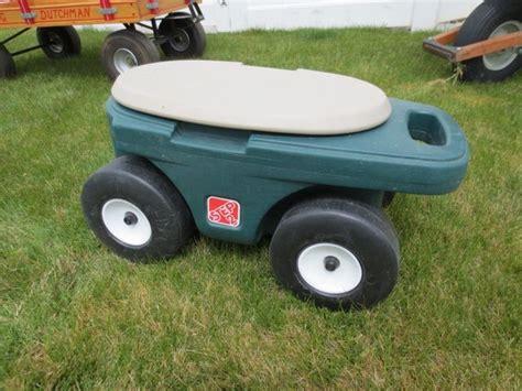 step 2 garden cart step 2 garden cart stool