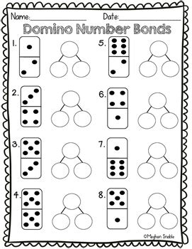 domino number bond math activity engage new york