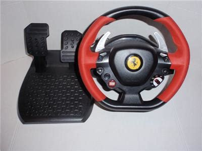 This guide contains 5 different wheels to choose. Super Car: Thrustmaster Ferrari 458 Spider Racing Wheel And Pedals Xbox One