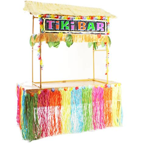 Tiki Hut Bar Kits by Hawaiian Tiki Hut Bar Deluxe Decoration Kit Partyrama