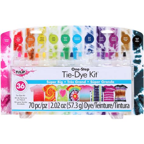 tulip  step tie dye kit super big jo ann