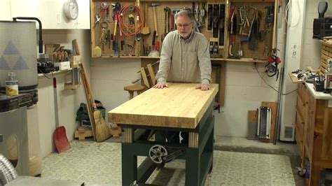 Woodworking Adjustable-height Bench