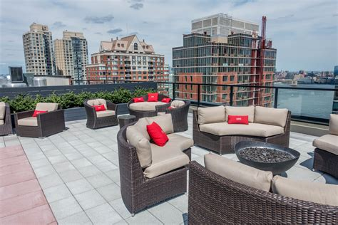 the one raises the bar for rental building amenity spaces