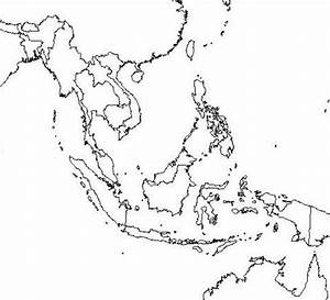 vdnamap: south east asia map blank