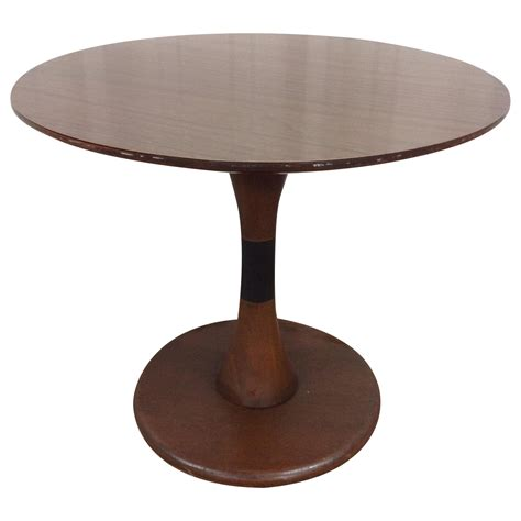 cj tables and kipp stewart for drexel tulip style table chairish