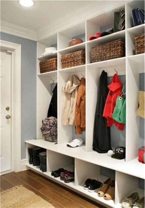 Storage Ideas by 75 Clever Hallway Storage Ideas Digsdigs