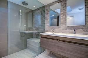 Salle De Bain Etroite : le design salle de bain 100 salles de bain modernes salle de bain bathroom bathroom sink ~ Melissatoandfro.com Idées de Décoration