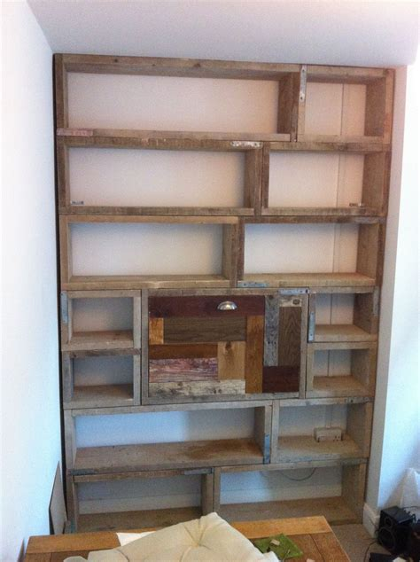 Bookcase Board by Bookcase Desk Made From Scaffold Boards And Cuts