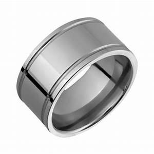 New mens titanium ring 10mm wide engagement band comfort for Custom made wedding bands to fit engagement ring