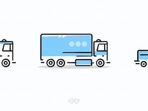 Delivery Cars Icons By Igor Gamajunov Dribbble