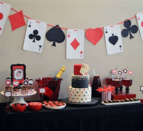 dos  donts  organizing  casino themed party