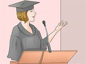 How To Write A Graduation Thank You Speech With Sample