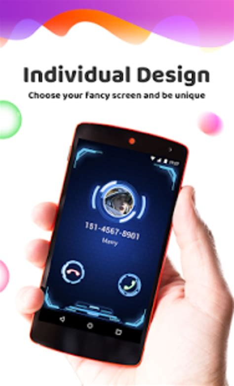 color phone flash call screen theme for android