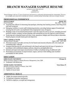 resume format for branch manager bank manager resume template learnhowtoloseweight net