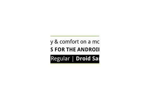 droid sans font em negrito baixar