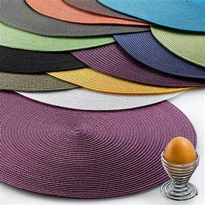 Set Table Rond : set de table rond classique ~ Teatrodelosmanantiales.com Idées de Décoration