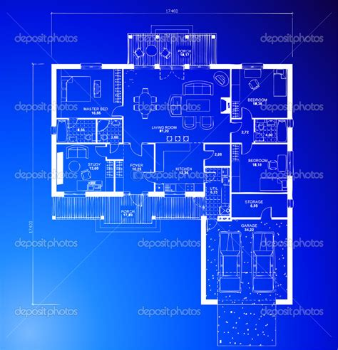 blue prints for a house 19 stock vector blueprints images construction paper