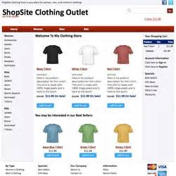 shopsite built in templates With shopsite templates