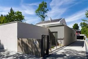 Einfamilienhaus Mit Garage : einfamilienhaus mit garage m13 architekten ~ Lizthompson.info Haus und Dekorationen