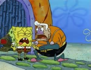 Spongebob SquarePants Squidward Crying