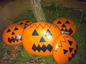 Halloween Kürbis Bemalen : steine bemalen als bastelidee tolle beispiele f r die motive ~ Eleganceandgraceweddings.com Haus und Dekorationen