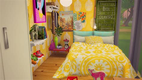 sims  blog colorful madness house  simsberrylis