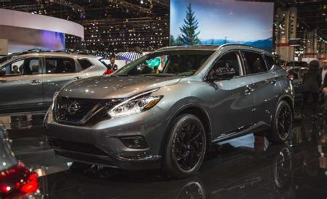 nissan murano midnight package release date  price