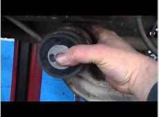 How To Install Rear Axel Bushing On a Opel vauxhall