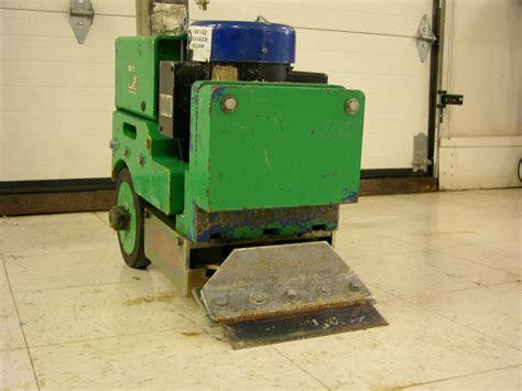 blastrac bs110 self propelled electric floor scraper tile