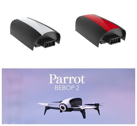 mah big capacity upgrade parrot bebop  drone lipo battery batterie ebay