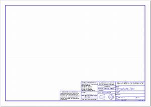 dwg templates free 28 images drawing templates freecad With dwg templates free download