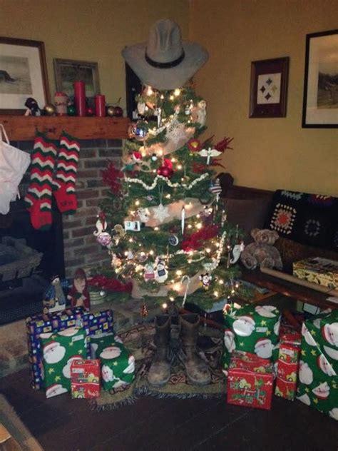 easy  fun western christmas tree decorations ideas
