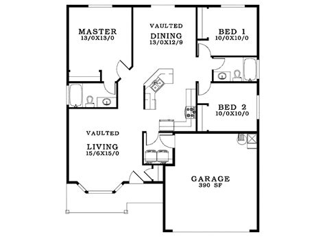 Small House Blueprints Plans  Building Plans Online #31179