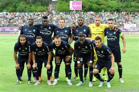 equipe de st etienne photos foot equipe etienne 22 07 2015 etienne ajax amsterdam match amical