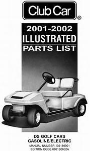 2001 - 2002 Club Car - Ds  Gas  U0026 Electric