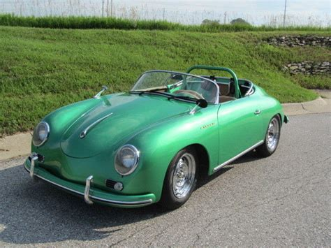 It is made by spark and is 1:43 scale (approx. 1957 Porsche Speedster- All New-Emerald Green-Only 1 like it for sale - Porsche 356 1957 for ...
