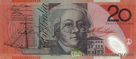 20 Australian Dollars (mary Reibey)