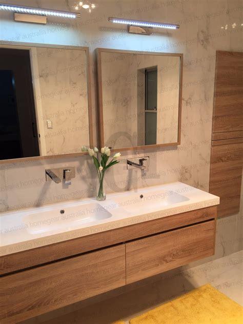 ibiza mm white oak timber wood grain wall hung