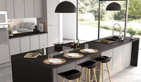 baie de cuisine 13 idées déco pour aménager une cuisine ouverte et familiale