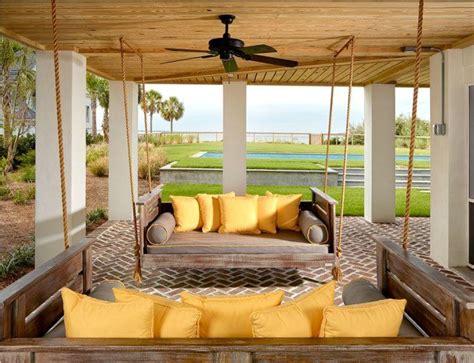 canapé suspendu canapé et lit suspendu pour décoration de terrasse et jardin