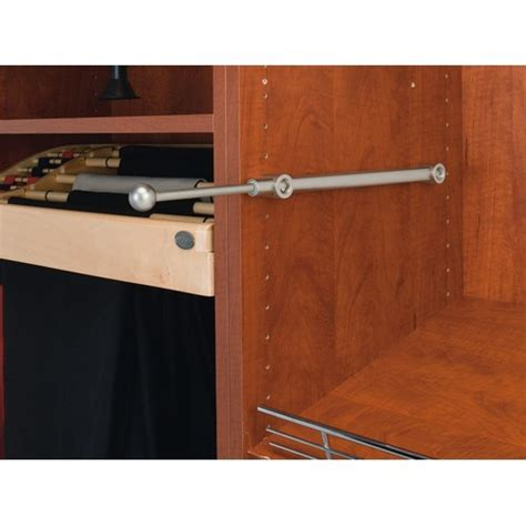 13 3 4 side mount valet rods designer series satin