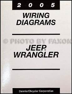 2005 Jeep Wrangler Repair Shop Manual Cd