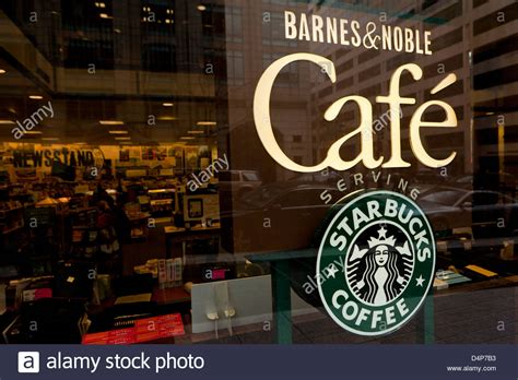barnes and noble cancel order barnes noble cafe sign stock photo 54578471 alamy